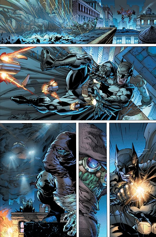 Check Out The First 8 Pages of Geoff Johns And Jim Lee's Justice League #1 In High Quality High Res