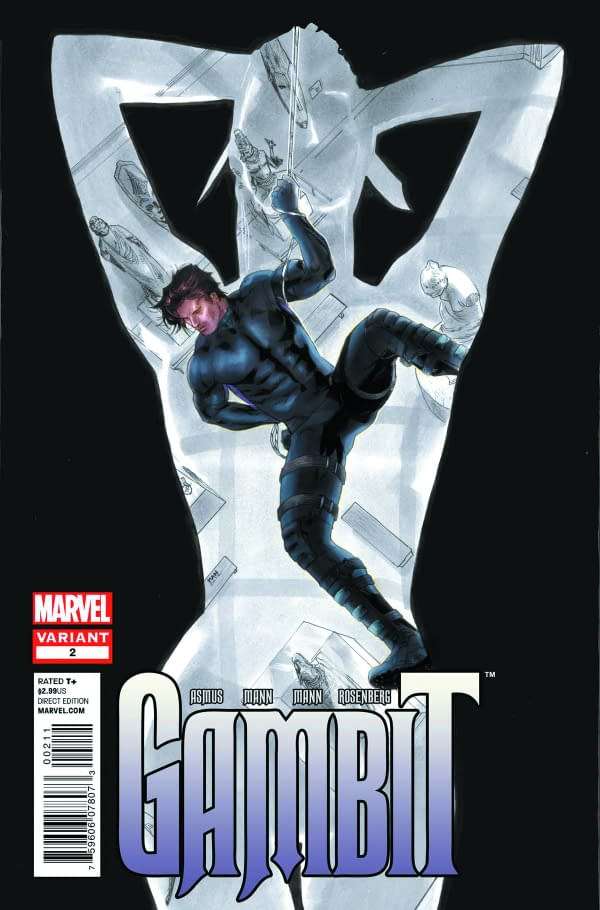 Gambit #2 And Hawkeye #2 Heading For A Second Print