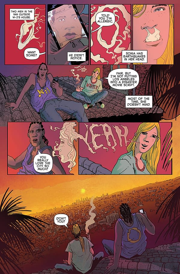 Two Prequel Pages For Ales Kot's Change #1 – And Not In The Comic