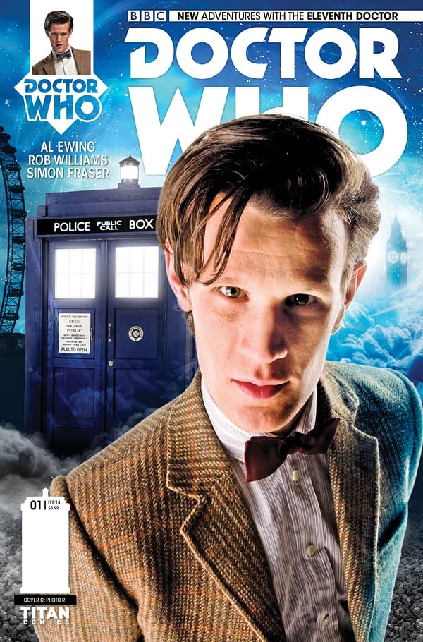 THE ELEVENTH DOCTOR #1 - PHOTO COVER