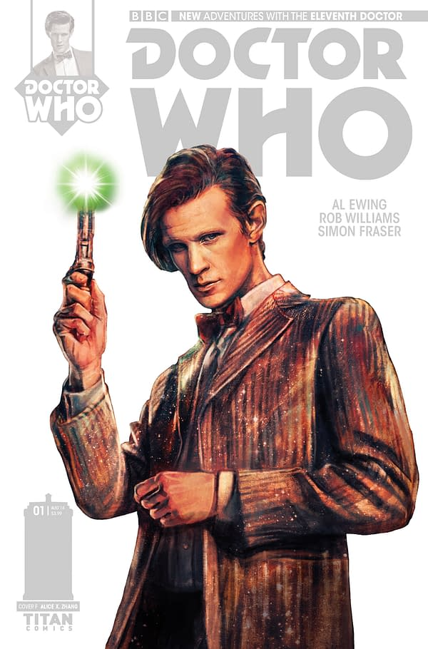 THE ELEVENTH DOCTOR #1 - STARK COVER
