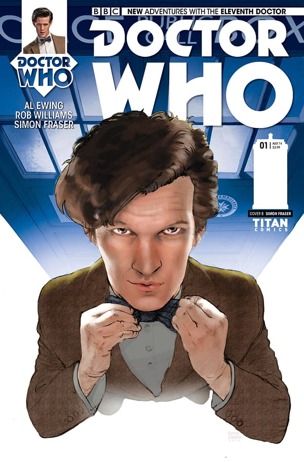 THE ELEVENTH DOCTOR #1 - SUBSCRIPTION COVER