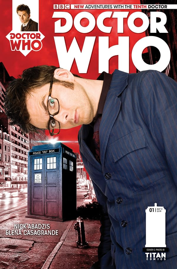 THE TENTH DOCTOR #1 - PHOTO COVER