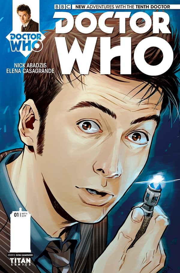 THE TENTH DOCTOR #1 - SUBSCRIPTION COVER