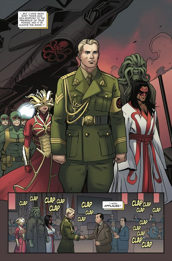 Could Donny Cates Be Writing An Unannounced Captain America Series For Marvel Legacy? Mindless Speculation…