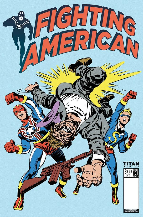 The Fighting American Will Wake Up In 2017, In New Titan Comic
