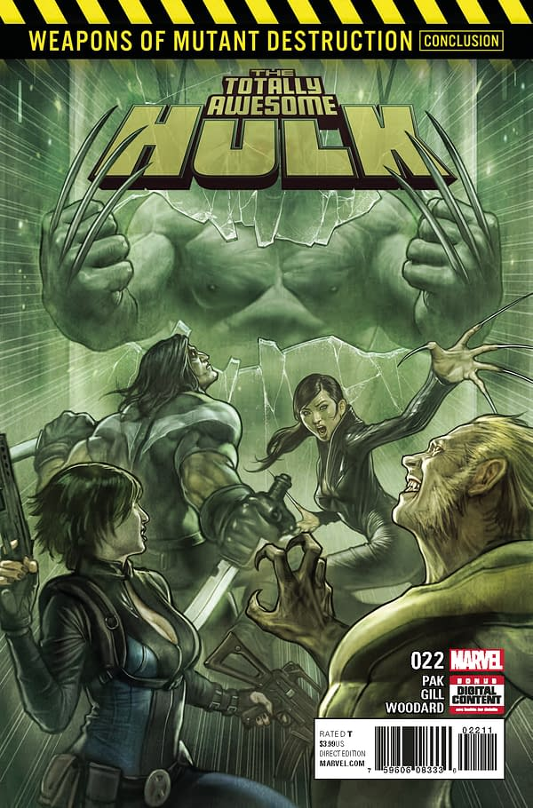 Totally Awesome Hulk #22