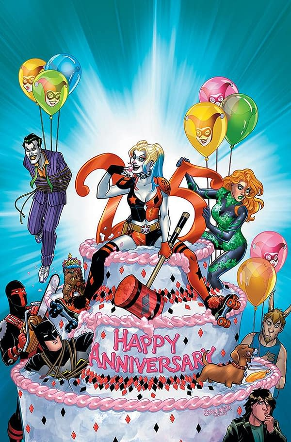 The Late Show's Daniel Kibblesmith Joins David LaFuente For Harley Quinn 25th Anniversary Special