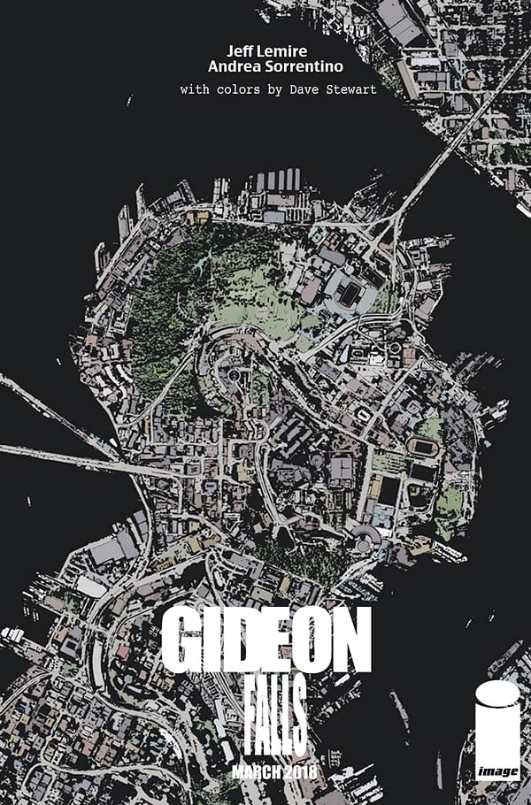 Jeff Lemire And Andrea Sorrentino's 'Gideon Falls' From Image Comics In March 2018
