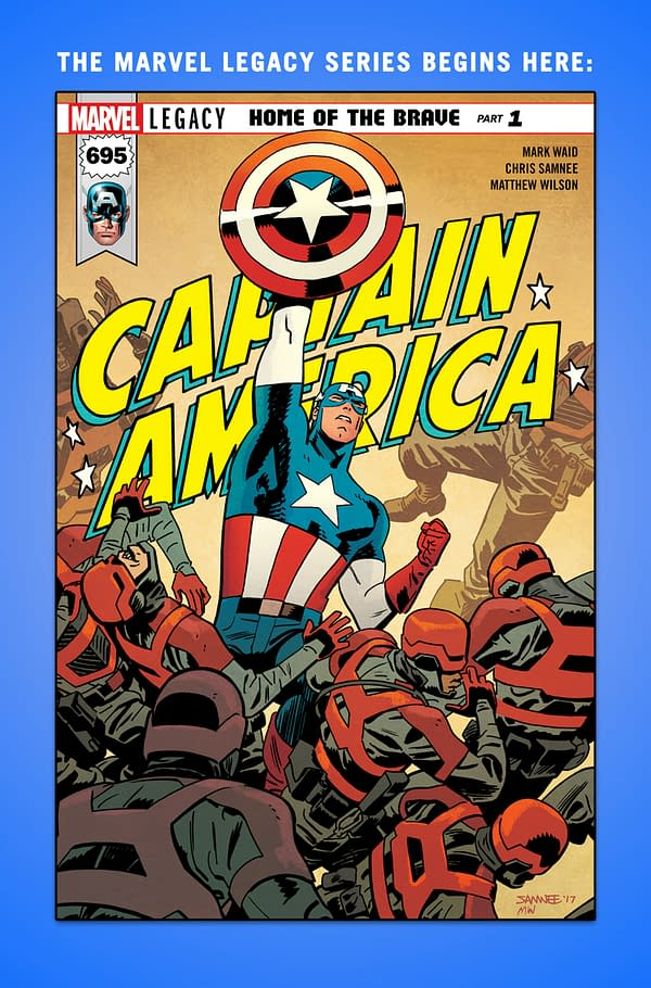 """Marvel Introduces New Term """"Icer"""" For Those Who Believe Captain America Was Frozen"""