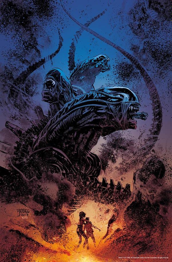 Gabriel Hardman to Launch Aliens: Dust to Dust Mini-Series at Dark Horse in April