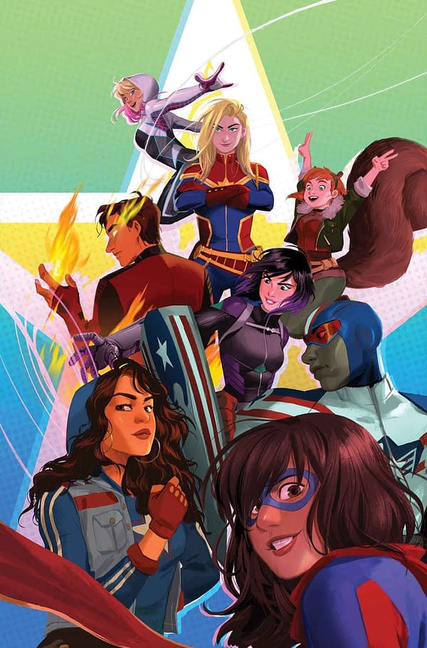 Devin Grayson Brings Squirrel Girl, Ms. Marvel, and America to Camp in Free Marvel Rising #0