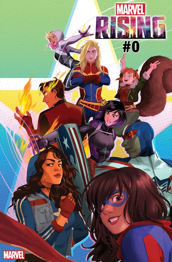 Marvel Rising #1 Will Launch in June for Father's Day Events in Comic Shops