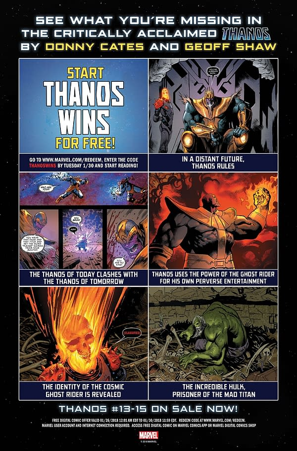 Marvel Second Printings for Spider-Man and X-Men Comics – and a Free Thanos #13 (If You Hurry)