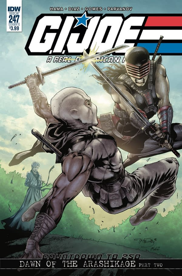 G.I. Joe: A Real American Hero #247 Sells Out and Goes to Second Printing, the Fourth Issue in a Row