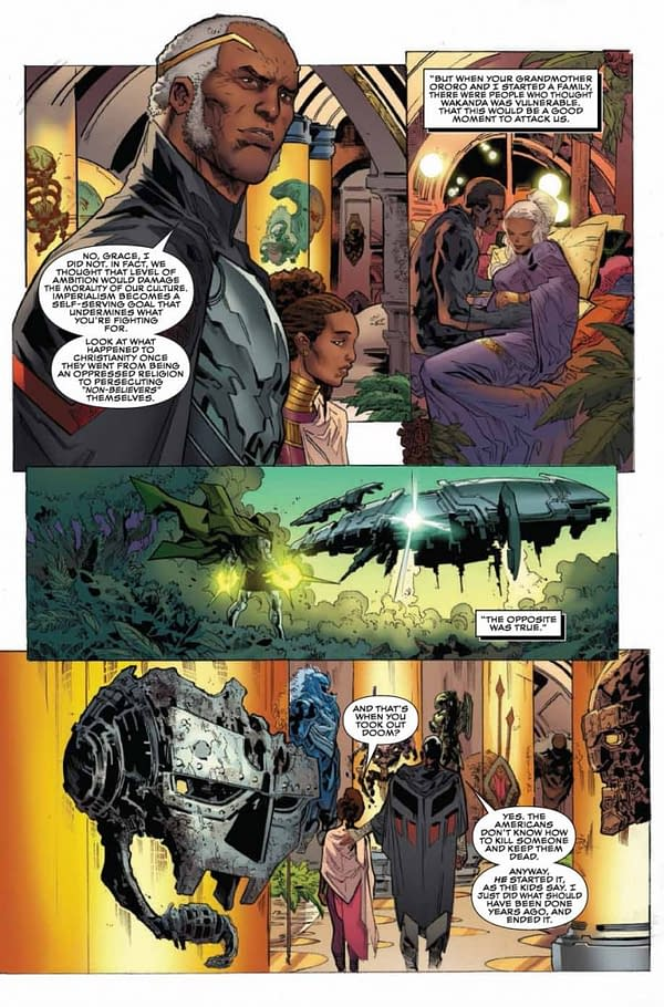 Black Panther Annual #1 art by Ken Lashley and Matt Milla