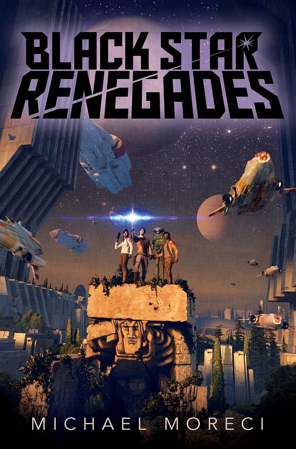 Michael Moreci Talks Black Star Renegades, Wasted Space, and the Snyder Cut