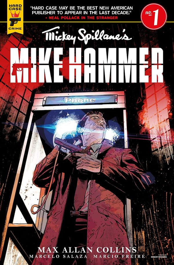 Mike Hammer Gets a New Comic Book Series for Mickey Spillane's 100th Birthday