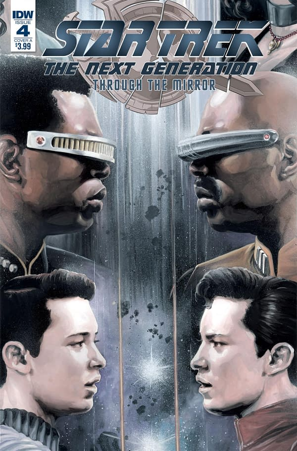 Star Trek: The Next Generation Travel to the Mirror Universe in IDW May 2018 Solicits
