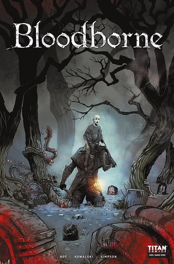 Bloodborne #2 cover by Piotr Kowalski