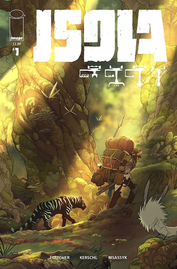 Isola #1 Gets a Variant by Karl Kerschl and Msassyk