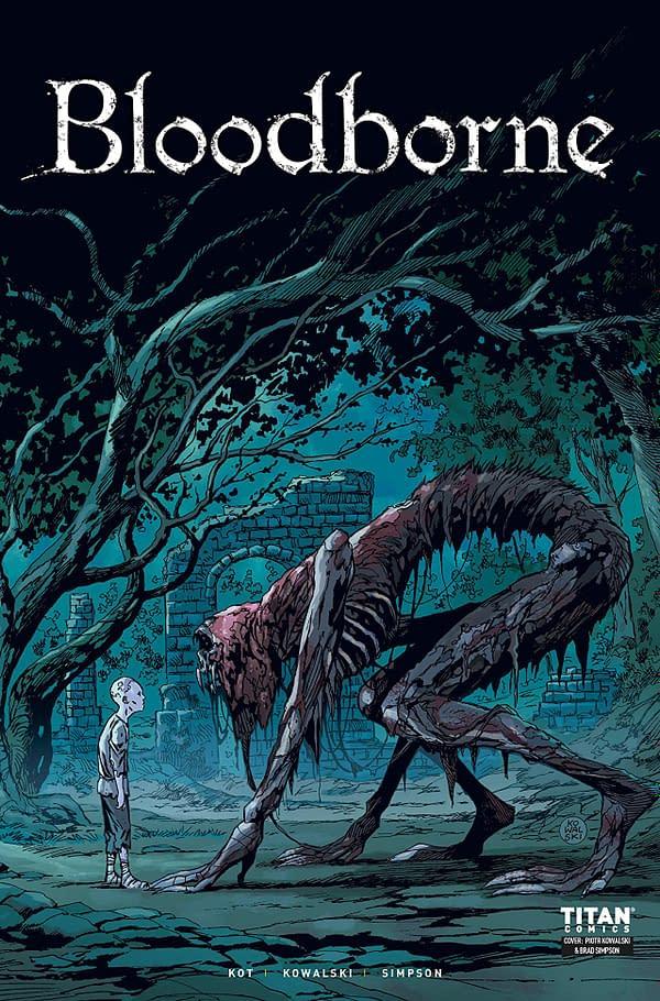 Bloodborne #3 cover by Piotr Kowalski