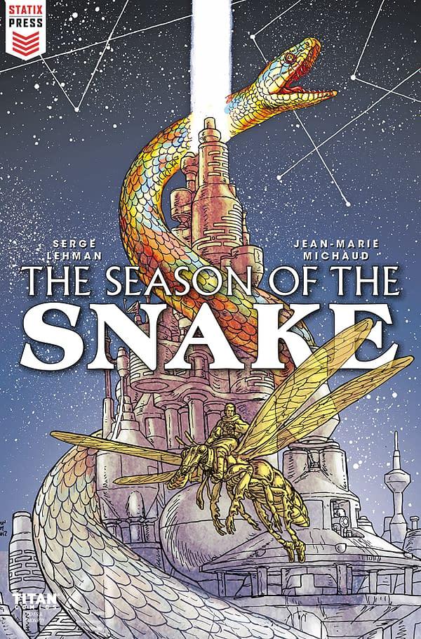 Season of the Snake #1 cover by Simon Roy