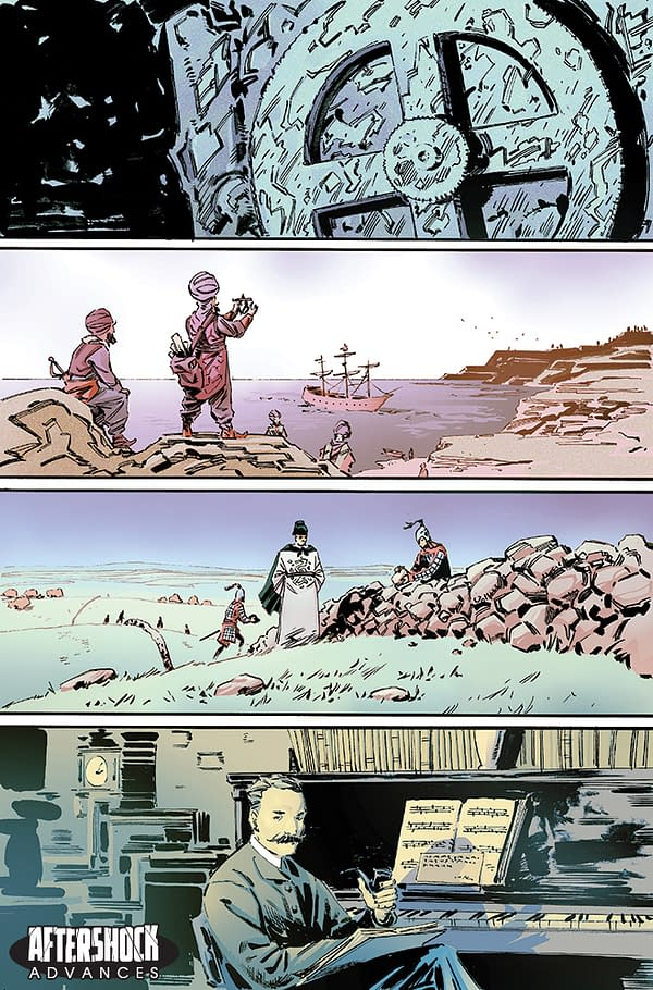 None But Doom Shall Wield the Power of 'Beyonders', from Paul Jenkins and Wesley St. Claire in August