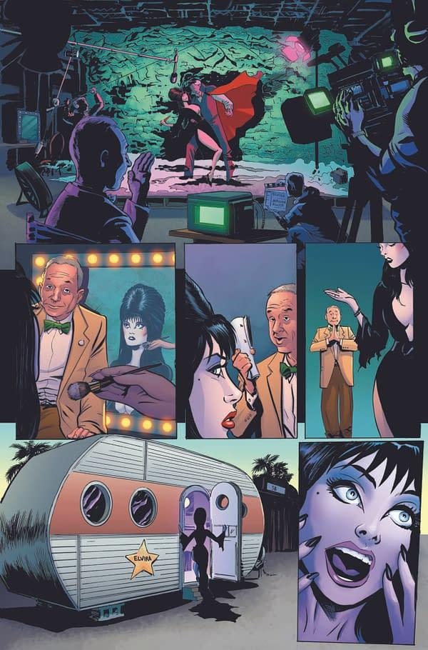 Exclusive First Look Inside Elvira: Mistress of the Dark #1