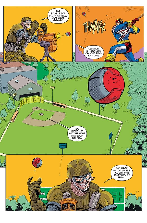 Fighting American #3 art by Andie Tong and Tracy Bailey