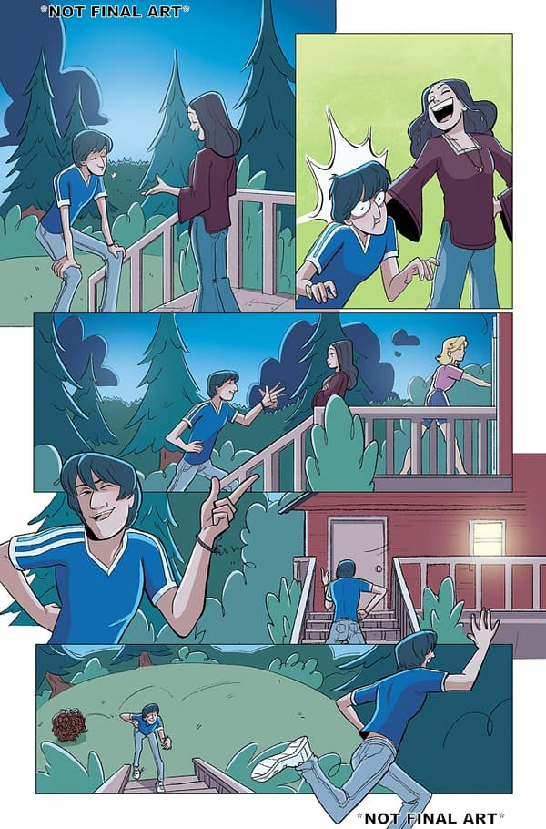 BOOM! OGN First Looks: Wet Hot American Summer OGN and Wild's End: Journey's End
