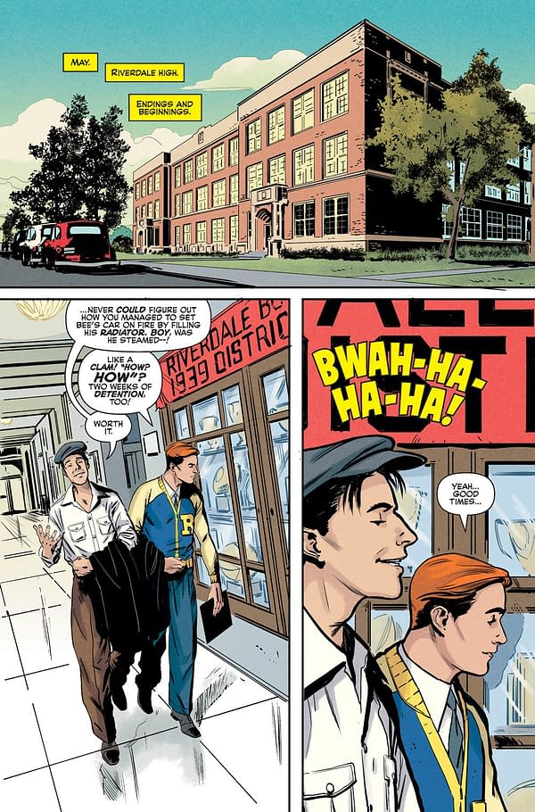 Riverdale Goes Legacy with World War II Era Tale 'Archie 1941' in September