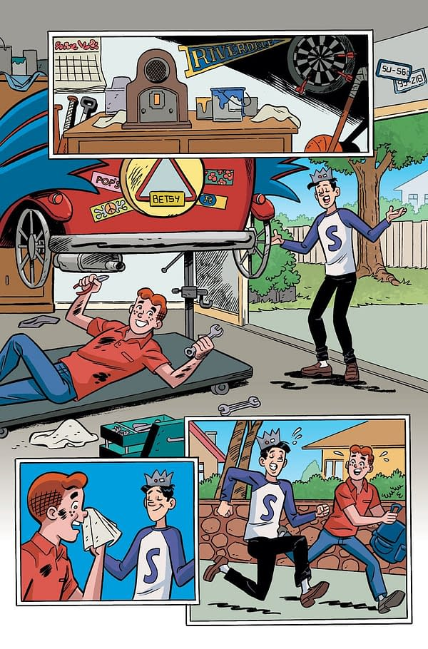 Preview the Summer's Biggest Intercompany Crossover as Archie Meets Batman '66