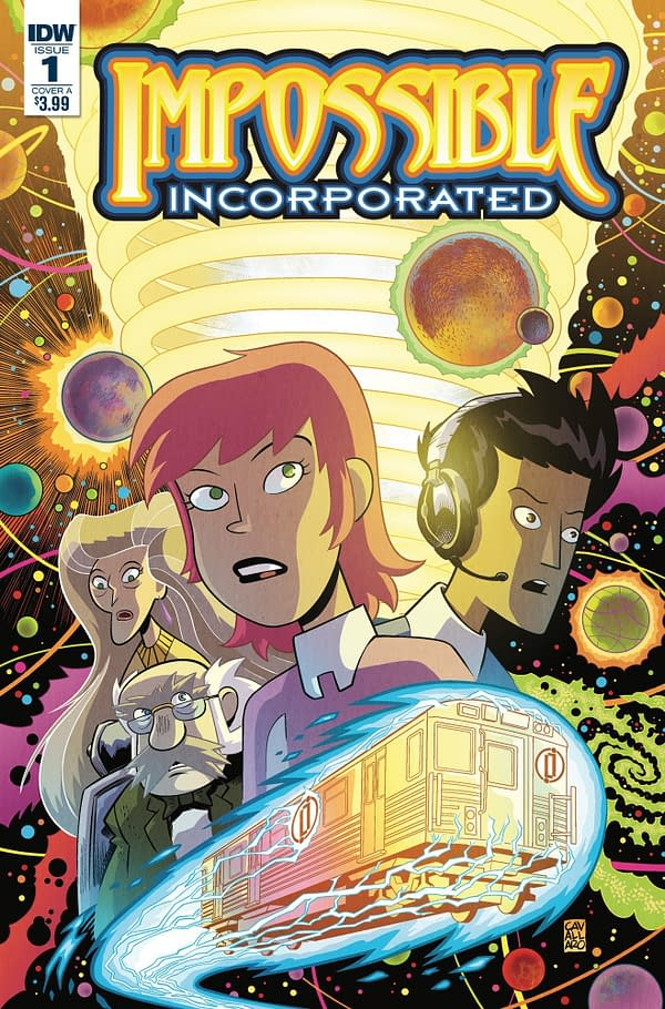 Exclusive: J.M. DeMatteis and Mike Cavallero Bring 'Impossible, Incorporated' to IDW