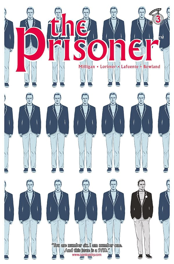 Prisoner #3 cover by Colin Lorimer