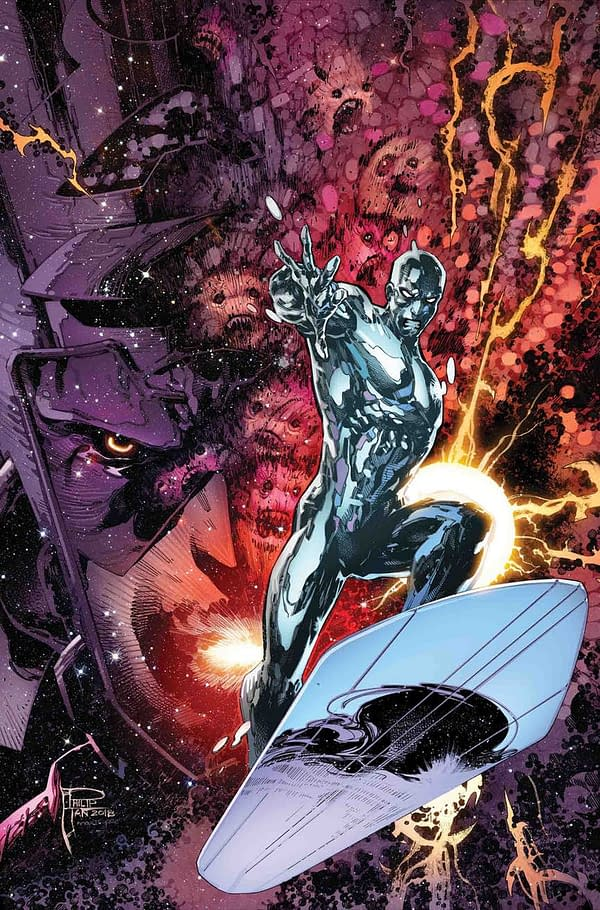 Marvel Builds a #SpaceForce with Silver Surfer Annual, Guardians Omnibus, Quasar Collection, More
