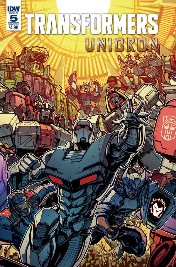 IDW Promises to Continue Publishing Transformers Comics After Unicron