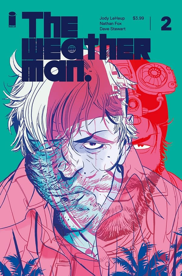 Behold: Nathan Fox's Limited Edition Wraparound Variant for The Weatherman #2