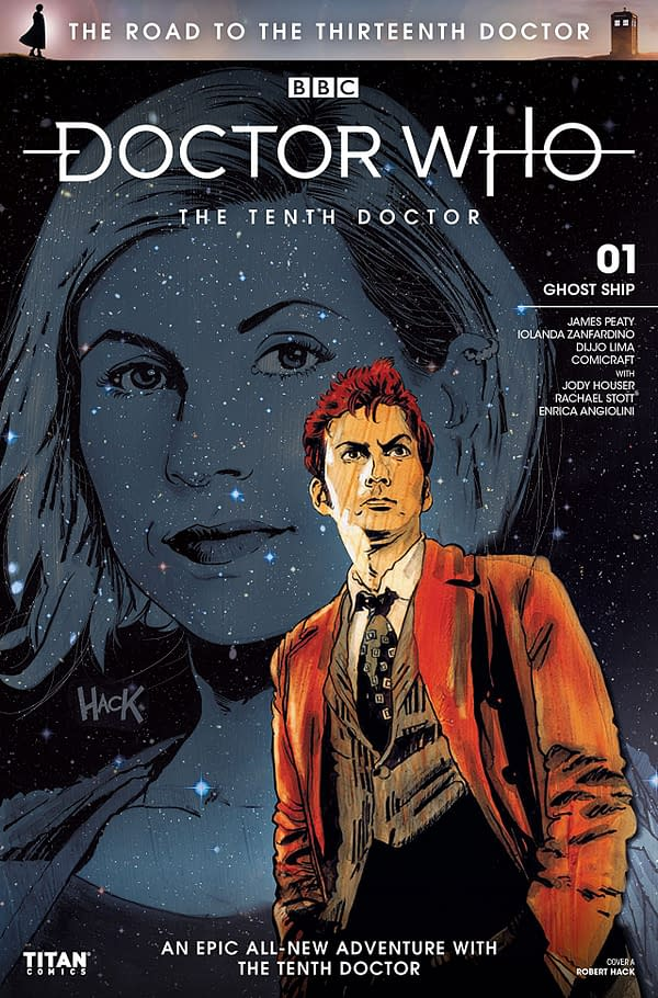 Doctor Who: Road to the Thirteenth Doctor - Tenth Doctor Special #1 cover by Robert Hack