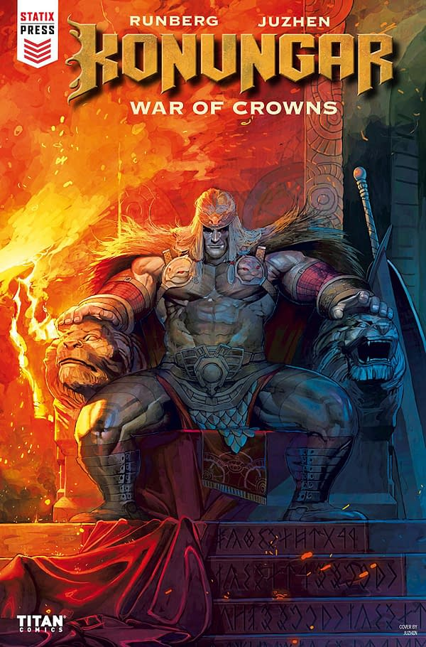 Konungar: War of Crowns #2 cover by Juzhen