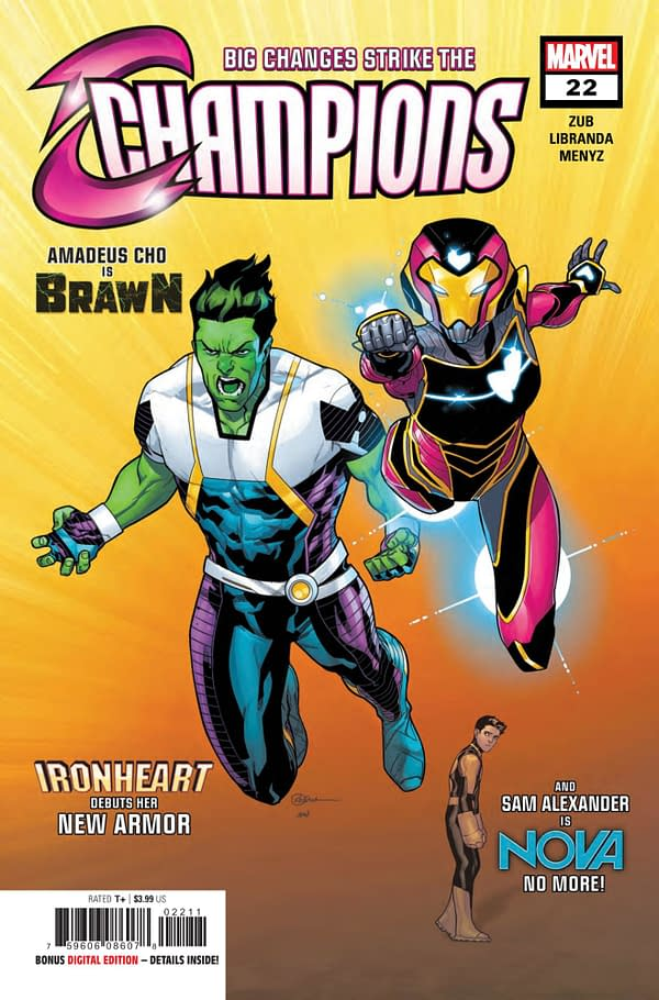 Hulk No More: Amadeus Cho is Now Called Brawn