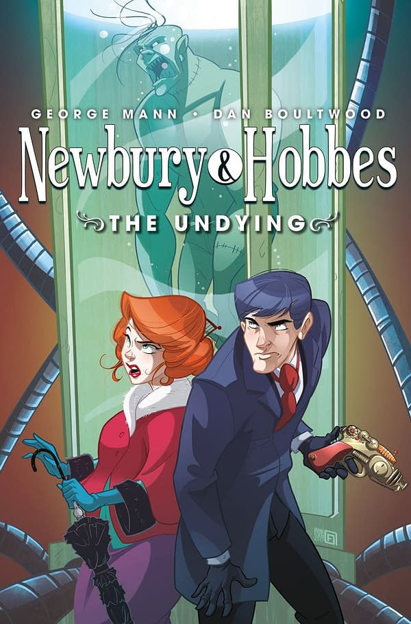 Titan Releases Trailer for the Comic Book Spinoff of George Mann's Newbury and Hobbes
