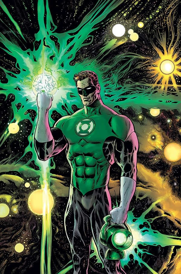 Liam Sharp Reveals the Secrets Behind Grant Morrison's Green Lantern Scripts