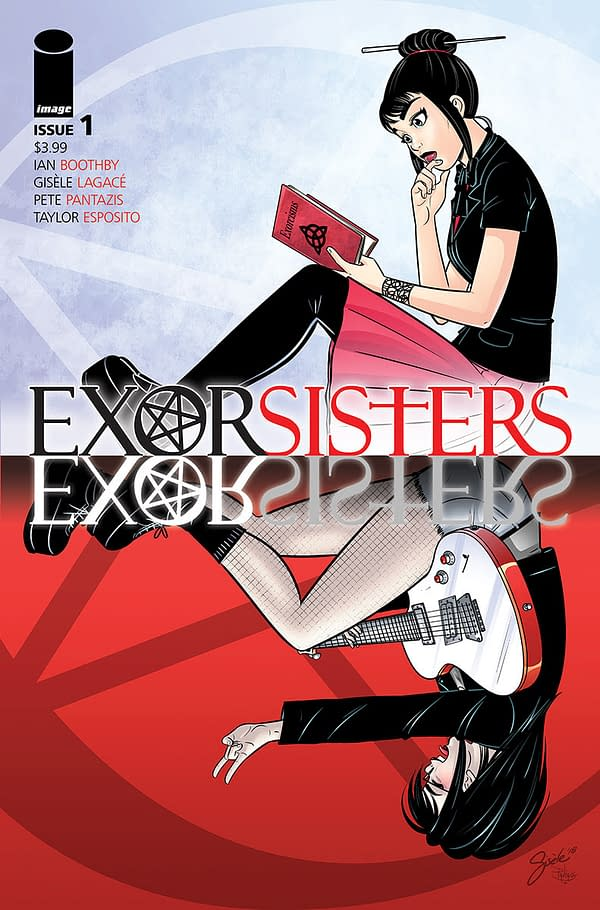 Exorsisters Answer the Call in Preview of Ian Boothby and Gisèle Lagacé's New Image Series