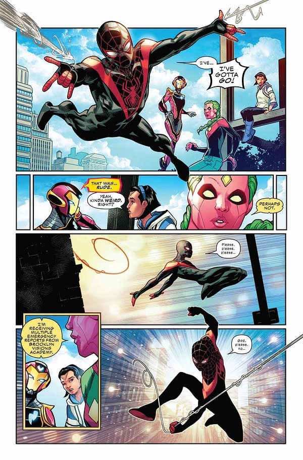 School Shooting at the Brooklyn Visions Academy in Champions #24 (Preview)