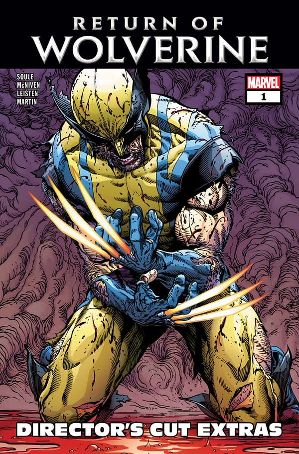 Marvel Promotes Reading Digital With Free Return of Wolverine #1 Director's Cut