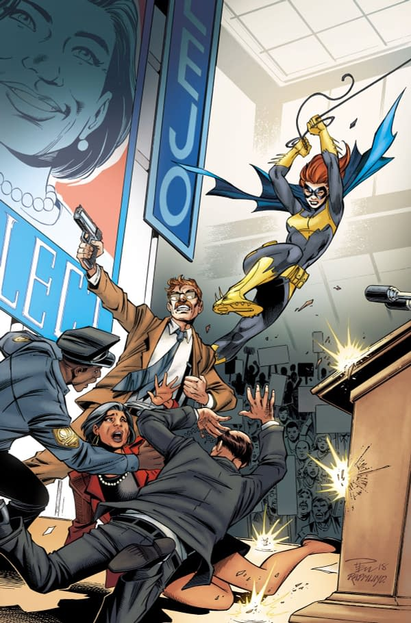 DC is Putting Politics in Your Batgirl Comics in January… Literally
