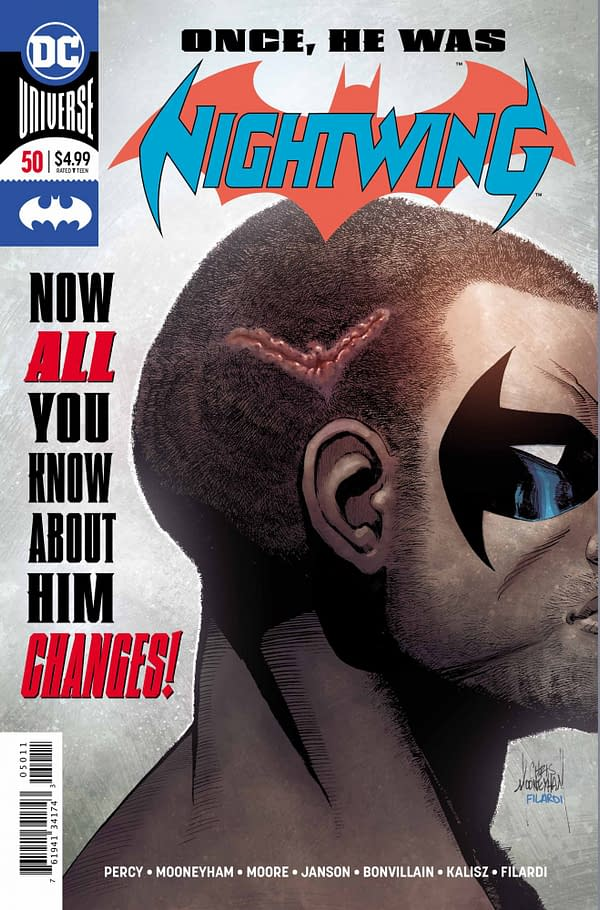 First Look at Grimmer, Grittier, Dickless Post-Shooting Nightwing #50