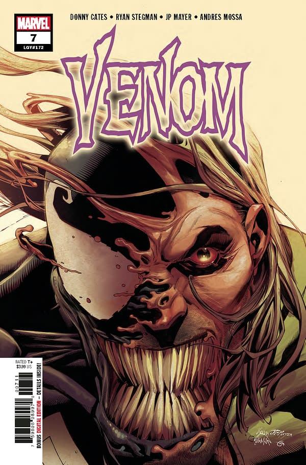Will Your Venom #7 Come With Extra Tongue?