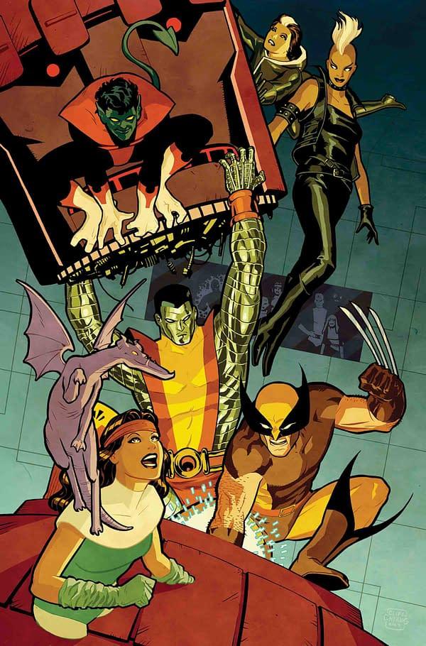 Foot-Loving Cliff Chiang Draws Ten Feet for Uncanny X-Men #1 Variant, But Marco Djurdjevic Draws None